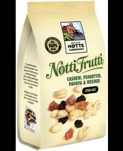Den Lille Nøttefabrikken 190g Nötti Frutti pähkinä-hedelmäsekoitus rypsiöljyssä paahdettuja pähkinöitä ja kuivattuja hedelmiä