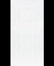 Kitchen Wall 0451 korkeapainelaminaatti valkoinen 10 x 20 cm tiili