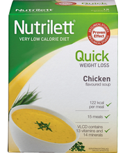 Nutrilett  15x33 g Quick Weight Loss Kanakeitto VLCD-dieettivalmiste