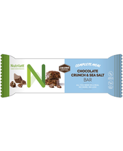 Nutrilett 60g Chocolate Crunch & Seasalt bar atreriankorvikepatukka