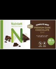 Nutrilett 4x60 g Premium Dark Chocolate ateriankorvikepatukka