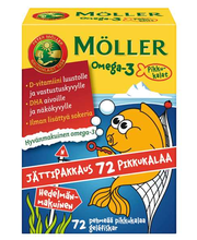 omega-3-rasvahappo 72kpl