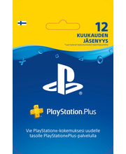 Playstation Plus-kortti 12KK