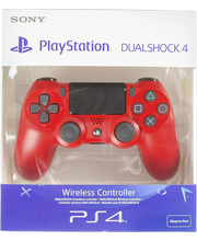 Ps4 dual shock magma red