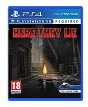 PS4 VR - HERE THEY LIE...