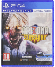 Ps4 vr arizona sunshine