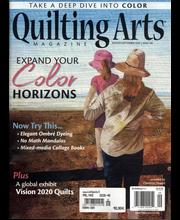 Quilting Arts aikakauslehti