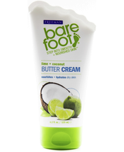 Freeman Bare Foot Butter Cream Lime & Coconut jalkavoide 125 ml