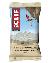 Clif Bar 68g valkosuklaa macadamia enegiapatukka