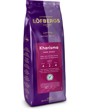 Löfbergs Lila Kharisma tumma paahto 400 g papukahvi