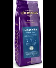 Löfbergs Magnifika kevyt tumma paahto 400 g papukahvi