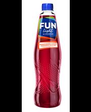 FUN Light 0,5l granaattiomena-mansikanmakuinen juomatiiviste