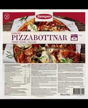 Semper 2x150g Pizzapohjat gluteeniton