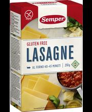 Semper 250g Lasagne gluteeniton pasta