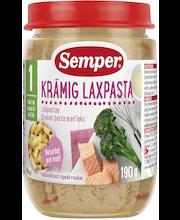 Semper 190g Lohipastaa ja parsakaalia alkaen 1v ateria