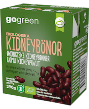 GoGreen 290g Kidneypavut Luomu