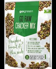 GoGreen Go Raw 300g Cracker Mix Näkkileipäseos