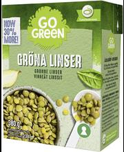 GoGreen 380g Vihreät Linssit
