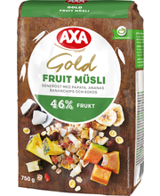 AXA 750g Müsli Gold Fruit
