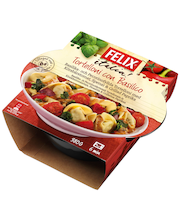 Felix 380g tortelloni con basilico pakasteateria
