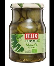 Felix Luomu 715/450g viipaloituja kurkkuja mausteliemessä
