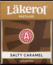 Läkerol 25g Salty Caramel sokeriton pastilli
