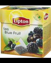 Lipton 20ps Blue Fruit pyramidi musta tee