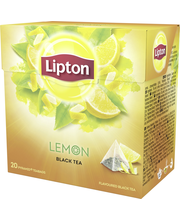 Lipton 20ps Lemon pyramidi musta tee