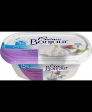 Creme Bonjour 200g Valkosipuli Light 15% vähälaktoosinen tuorejuusto
