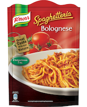 Knorr 148g Spaghetteria Bolognese pasta-aines