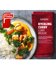 Findus 390g Dagens Curry broilerinfilee