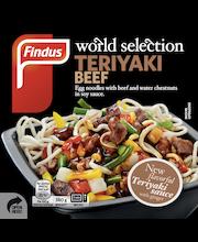 Findus 380g World Selection Teriyaki Beef
