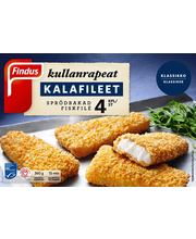 Findus Kullanrapeat kalafileet MSC 360g, pakaste