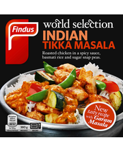Findus World Selection Indian Tikka Masala 380g, pakaste
