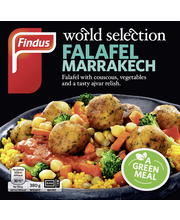 Findus 380g World Selection Falafel Marrakech