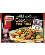Findus 450g World Selection Cook Bronx style vegetables