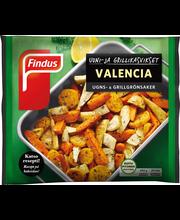 Findus 450g Uuni-ja grillikasvikset Valencia