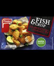 Findus Fish & Crisp kalanuggetit MSC 245g, pakaste