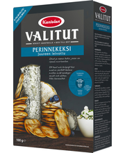 Kantolan Valitut Perinnekeksi 100g juureen leivottu suolakeksi