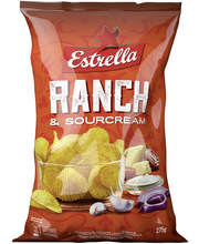 Estrella 275g Sourcream&Ranch Chips