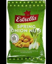 Estrella 140g maapähkinöitä sipulin makuisella kuorrutteella