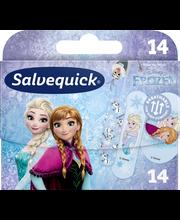 Salvequick 14kpl Frozen lastenlaastari