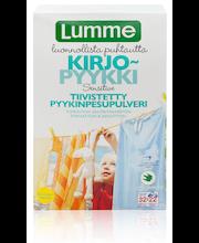 Lumme 1,12kg Kirjopyykki Sensitive pyykinpesupulveri