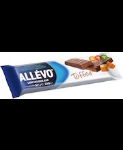 Allévo 57g Toffee low calorie bar ateriakorvike painonsäätelyyn