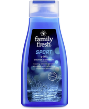 Family Fresh 500ml Sport shower & shampoo suihkusaippua