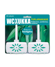 WC Kukka 2x50g TuplaEucalyptus wc-raikastin