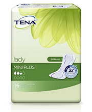Tena Lady Mini Plus Pikkuhousunsuoja 16 kpl