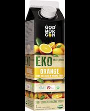 God Morgon 1 L Luomu  appelsiinitäysmehu