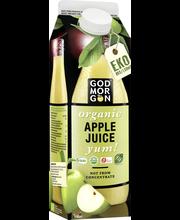 God Morgon 1 L Organic Apple yum täysmehu