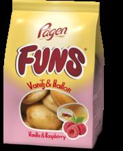 Pågen Funs Vanilla & Raspberry 230g vaniljavadelma täytepulla